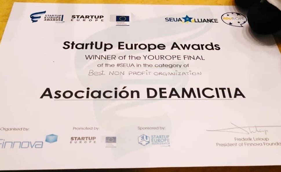 StartUp Europe Awards Winner